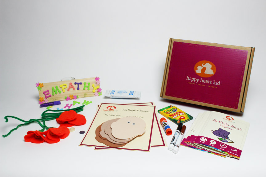 Empathy Activity Kit. Photo courtesy of Happy Heart Kid
