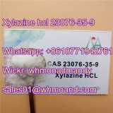 Hot Sell Xylazine Hydrochloride 23076-35-9 with Safe Delivery