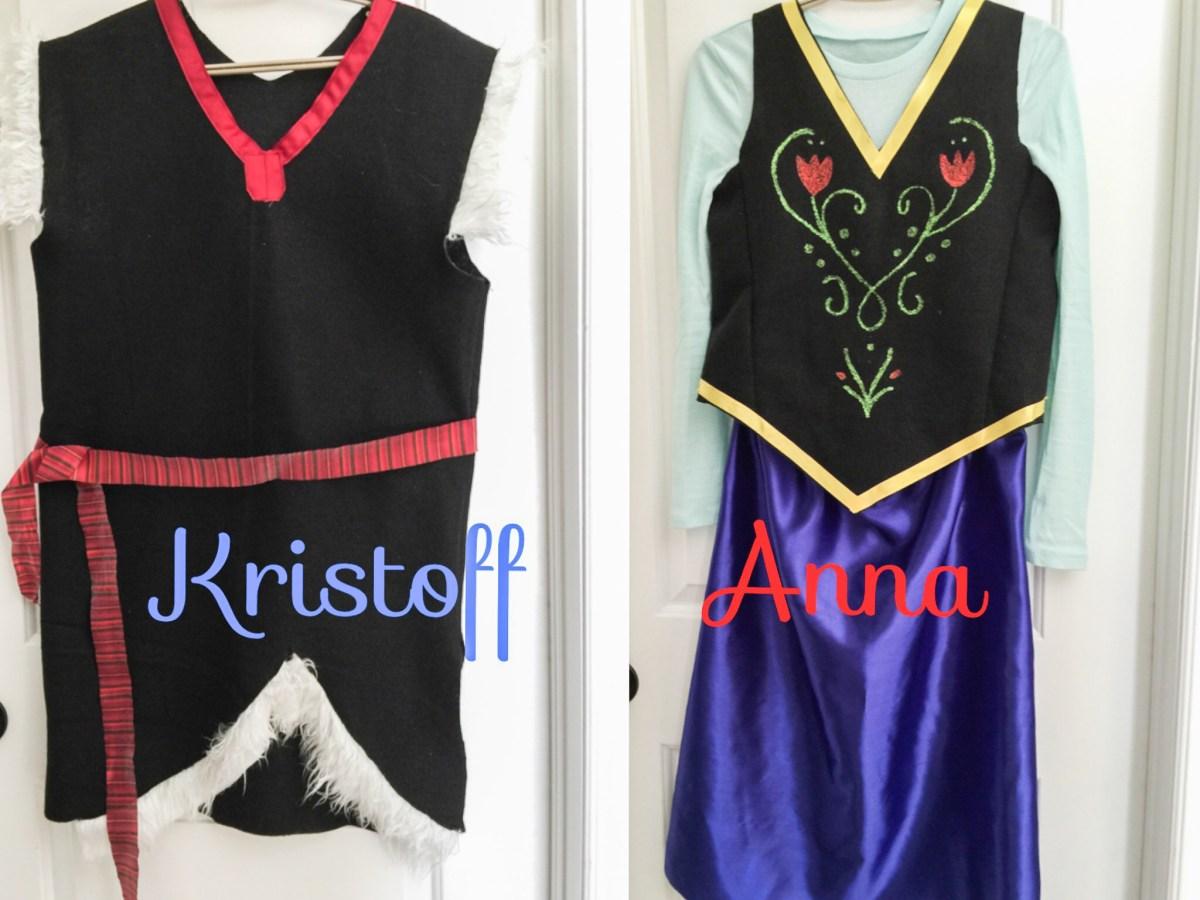 DIY: Como fazer roupas da Anna e Kristoff do Frozen