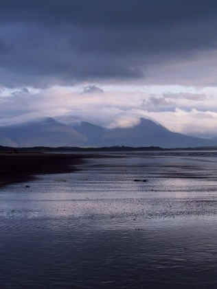 photograph of Banna strand with Clouds
