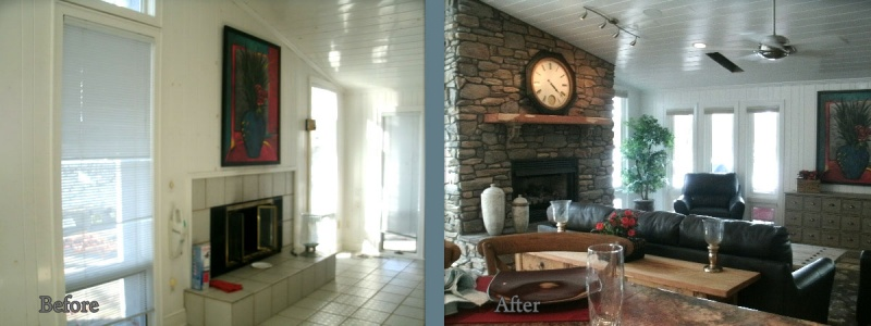 Smith Mountain Lake builder before and after 7