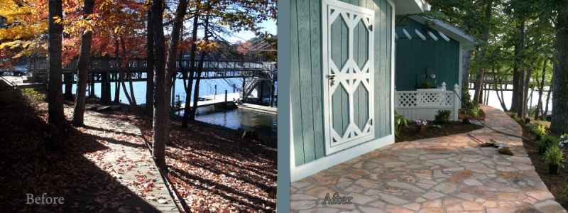 Smith Mountain Lake builder before and after 16