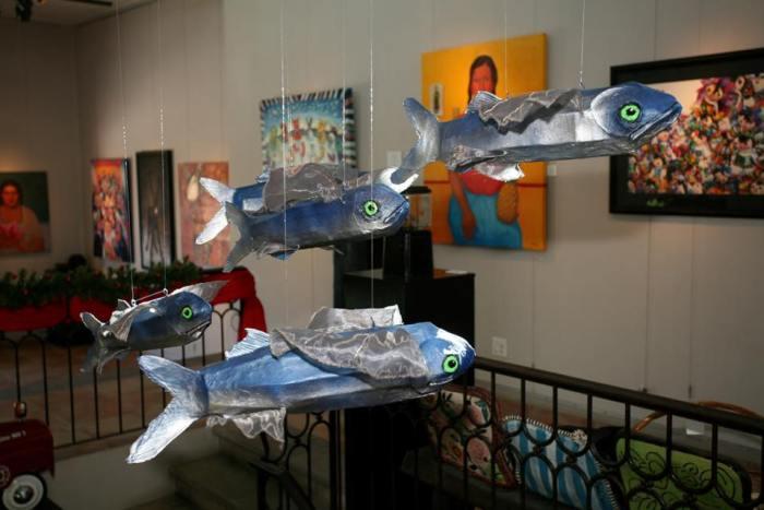 Flying Fish at Galeria de Ida Victoria