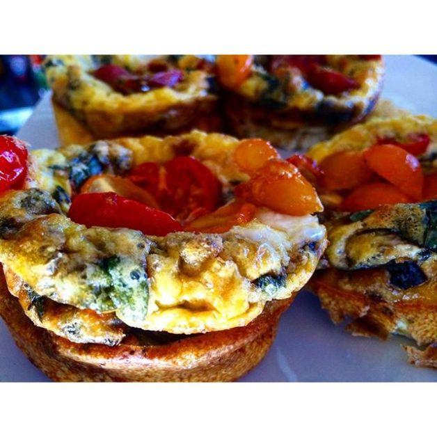Chef Omar's Mini Organic Veggie Fritattas