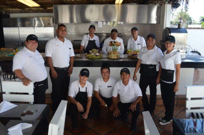 Chef Hugo and Staff