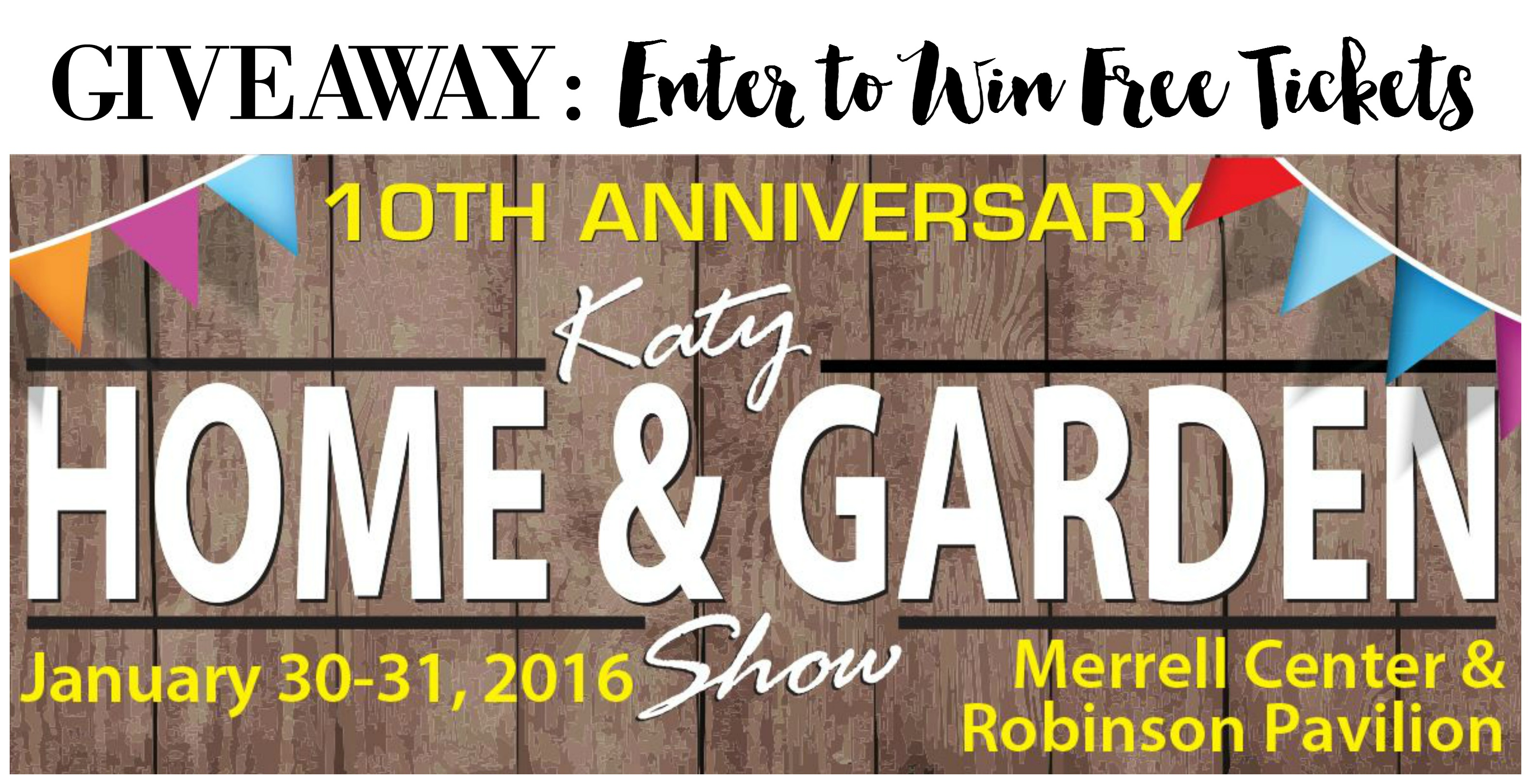 Tickets To Katy Home And Garden Show Giveaway The Bajan