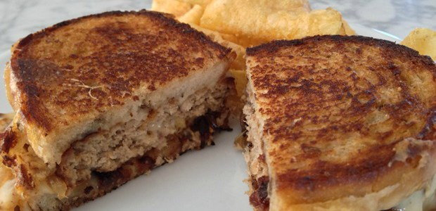 Classic-With-A-Twist: This Ranch Patty Melt sizzles with flavor