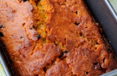 Dark Chocolate Chunk Pumpkin Bread with Pistachios-feature