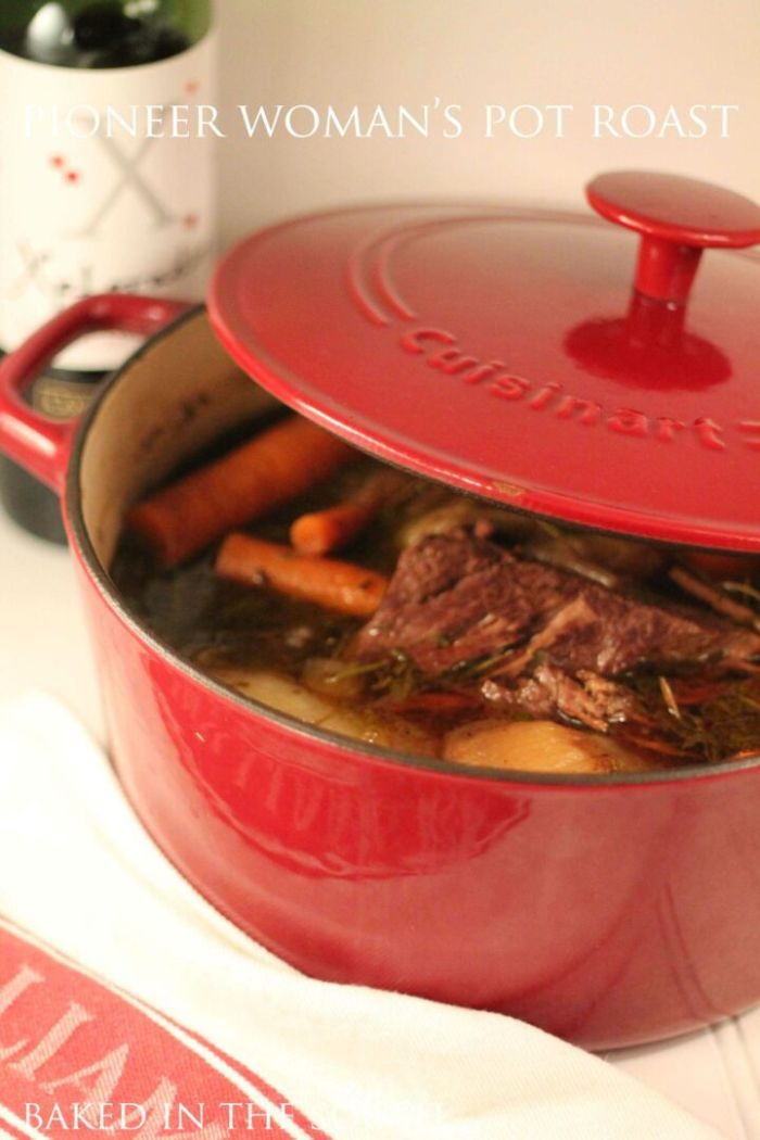 Dinner Recipes Pioneer Woman Pot Roast Comfort Food Recipe Kitchen Chef Cooking The Food Network TV Famous Crock Pot Easy Meals