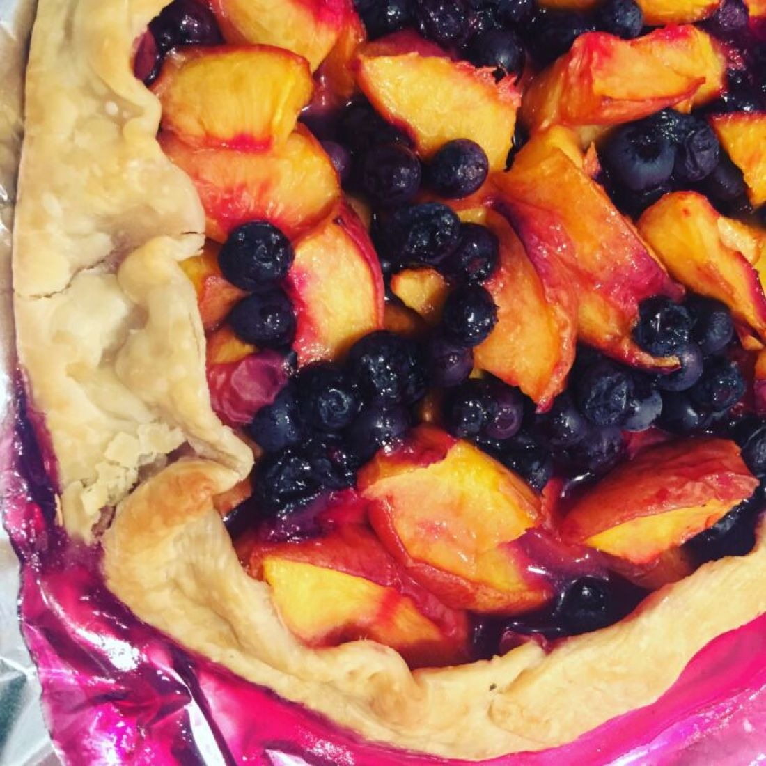 Stone Fruit Galette - Baked in the South