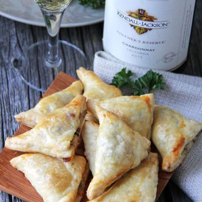 MUSHROOM, HERB AND GRUYERE CHEESE MINI TURNOVERS
