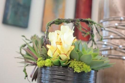 design accessories floral arrangement custom dallas