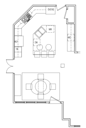 dallas interior design before after