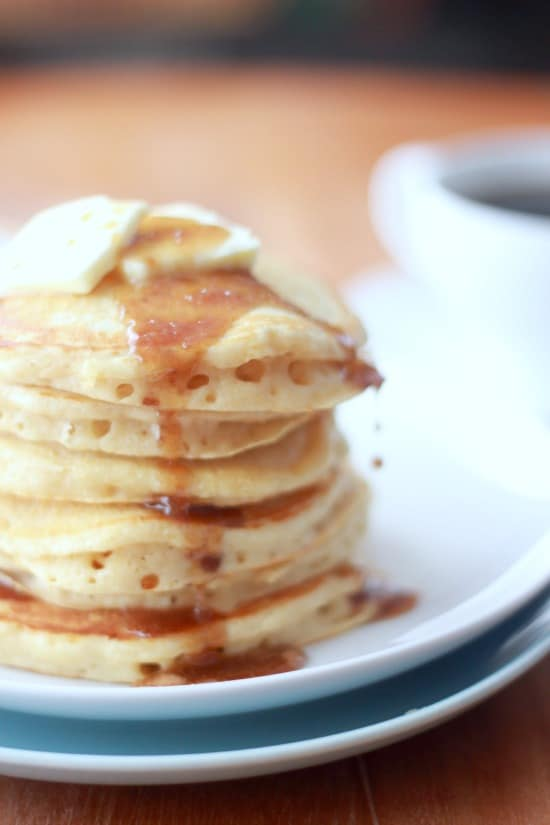 Old Fashioned Sour Buckwheat Pancakes