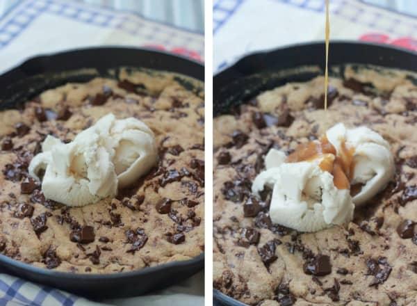salted-caramel-skillet-cookie-2