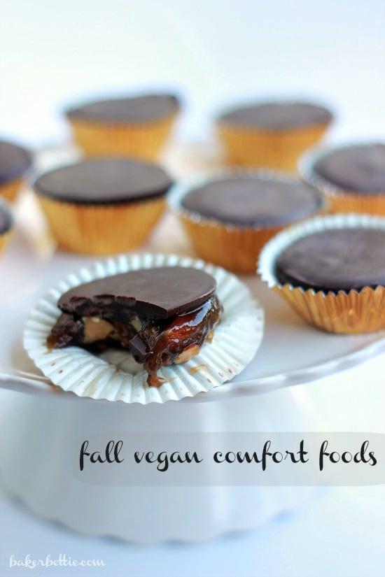 Dark Chocolate Turtles with Smoked Almonds (Vegan)