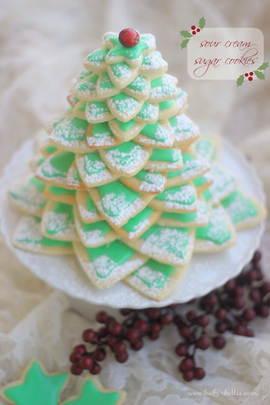 Soft Sour Cream Sugar Cookies