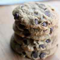 Easy Vegan Chocolate Chip Cookies: Only 6 Ingredients