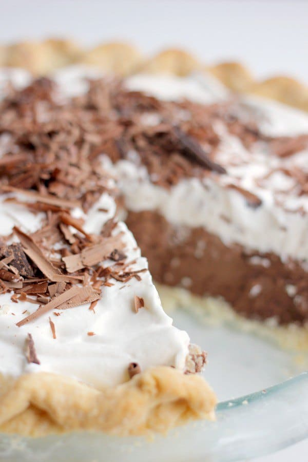 Chocolate French Silk Pie Recipe- Baker Bettie