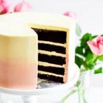 Chocolate Cake with Swiss Meringue Buttercream