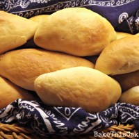 Follow the photos to bake this bread - Photo Graphics Homemade Bread Rolls