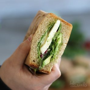 Green Sandwiches | Bake to the roots