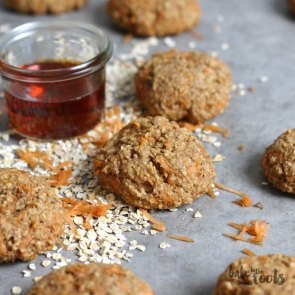 Carrot Oats Cookies | Bake to the roots