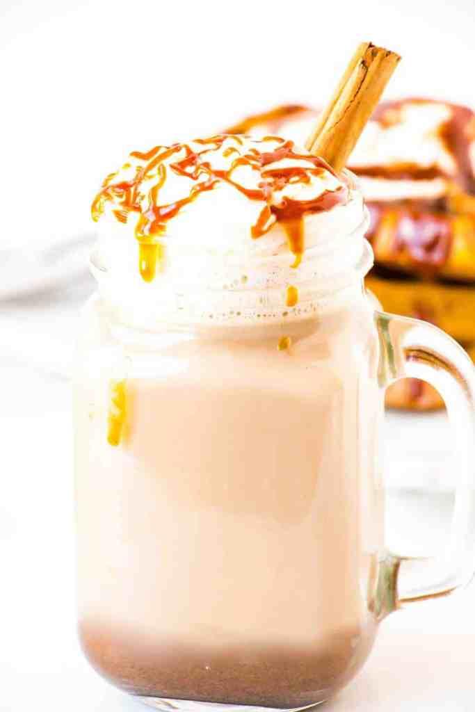 Salted Caramel Pumpkin Spice Latte :