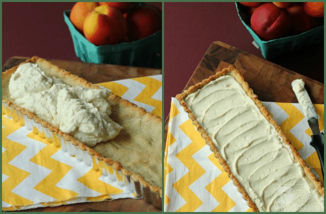 Peach Amaretto Tart