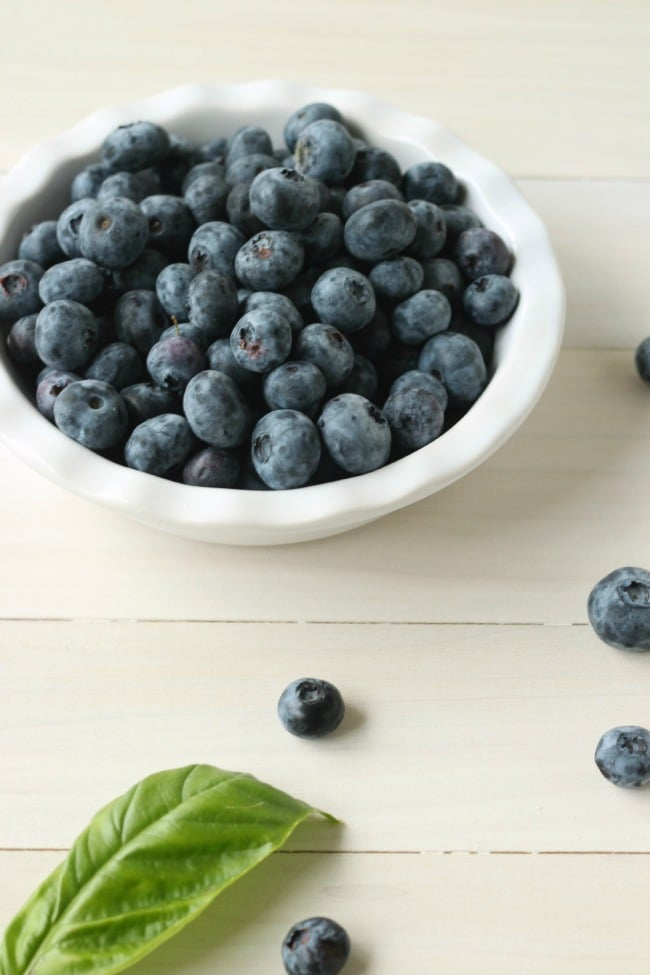 Blueberries & Basil