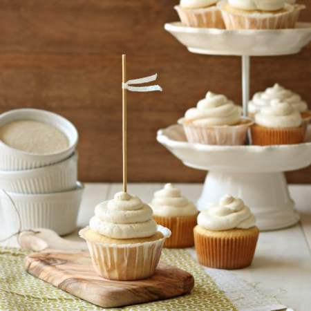 Simply Perfect Vanilla Cupcakes