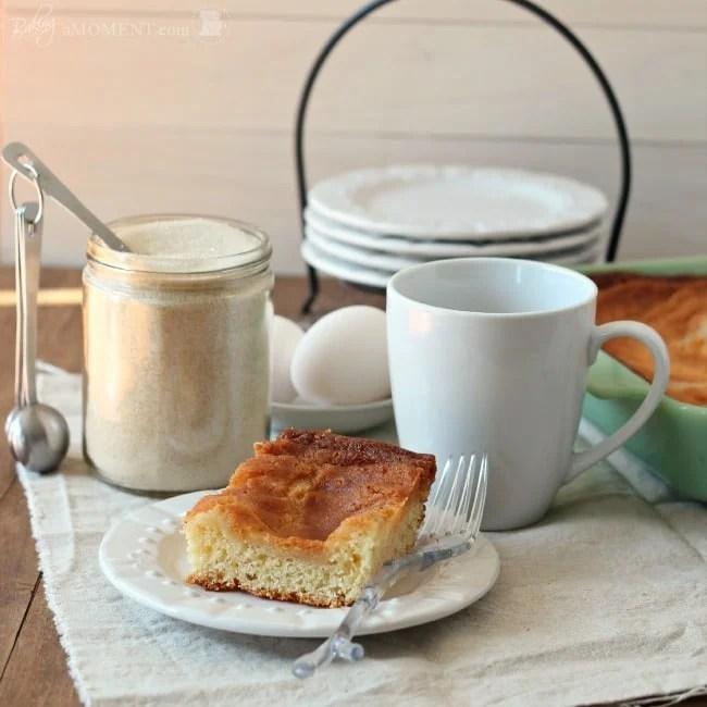 St. Louis Gooey Butter Cake | Baking a Moment