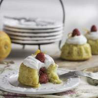 Orange Raspberry Mini Bundts