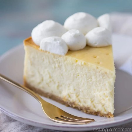 Perfection! This cheesecake was dense and creamy, and I loved the buttery vanilla wafer crust. #savemetips https://www.pinterest.com/pamcookingspray/ #spon