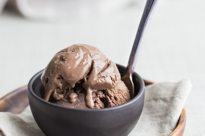 Simply Perfect Chocolate Ice Cream: Best-ever homemade chocolate ice cream recipe. So creamy, rich, and super-chocolate-y!