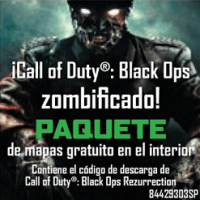 Call Of Duty: Black Ops + Paquete de Mapas GRATIS Rezurrection