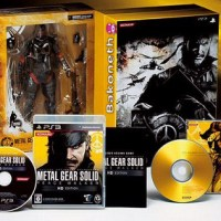 Metal Gear Solid: Peace Walker HD Edition [Limited Edition] incluye la figura de Snake by Play Arts Kai!!