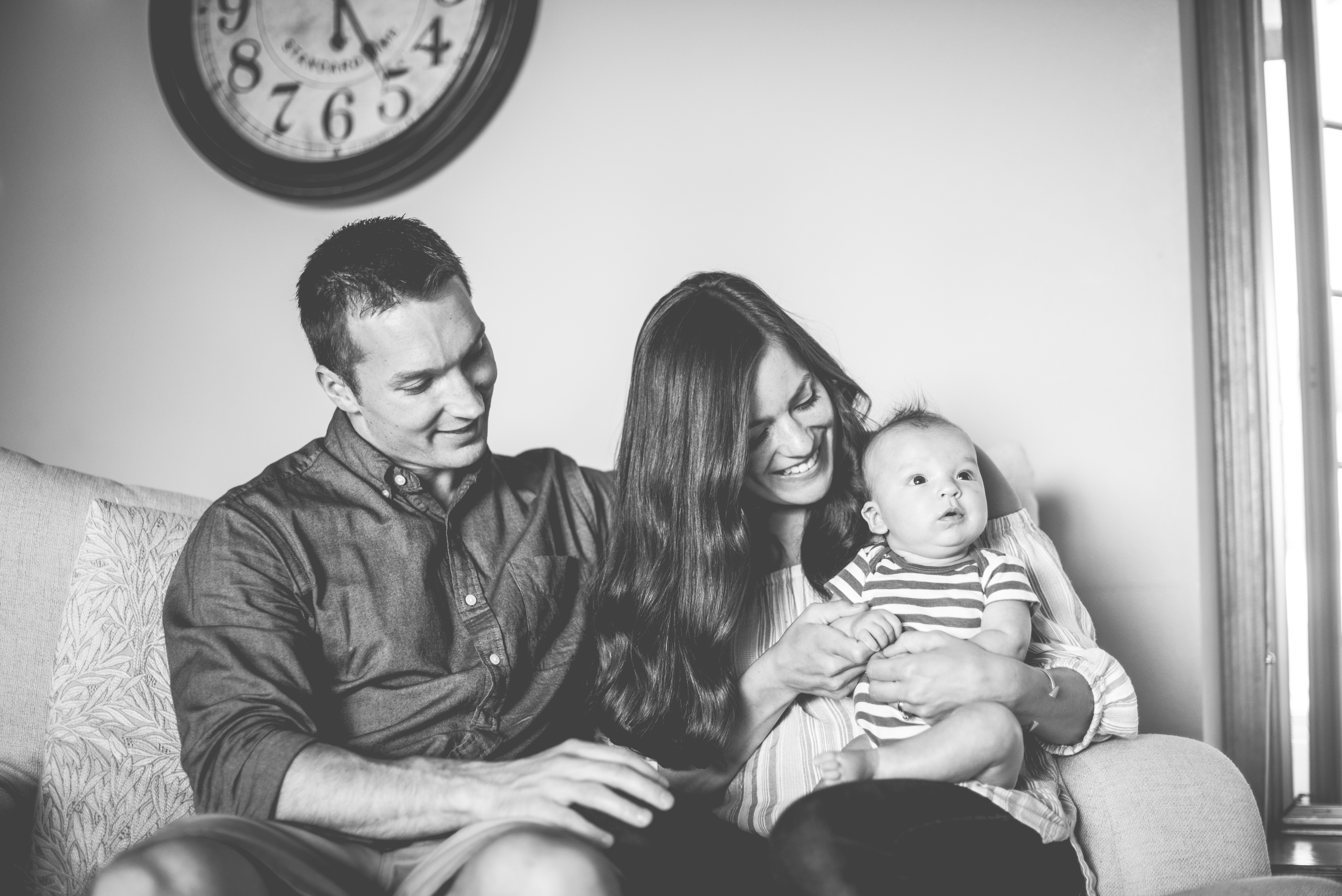 Maxwell is joy, but Drew and I have to care for ourselves to feel our happiest/best :) Photo credit: Tara Draper
