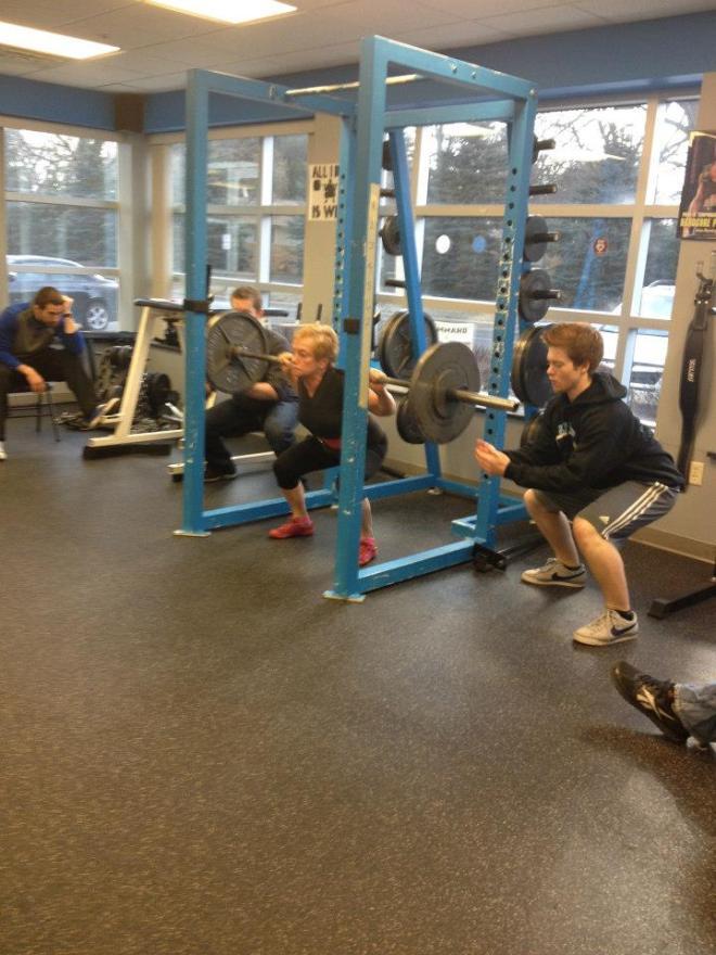 ronnie squat