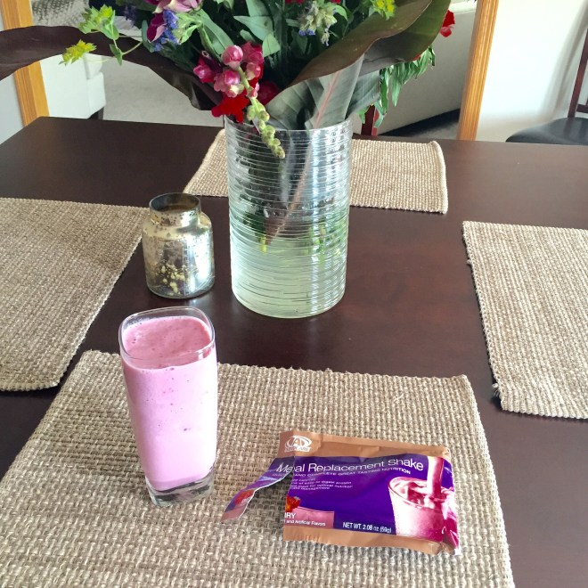 meal replacment shake berry