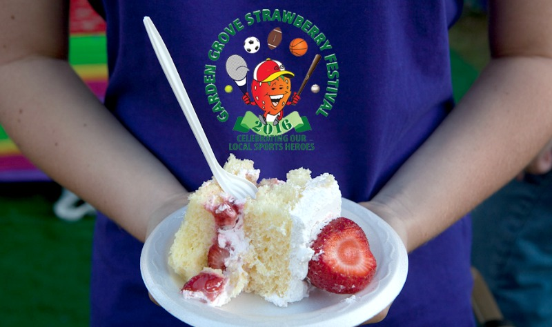 Strawberries Take Over Garden Grove This Memorial Day Weekend| @GGStrawberryFst