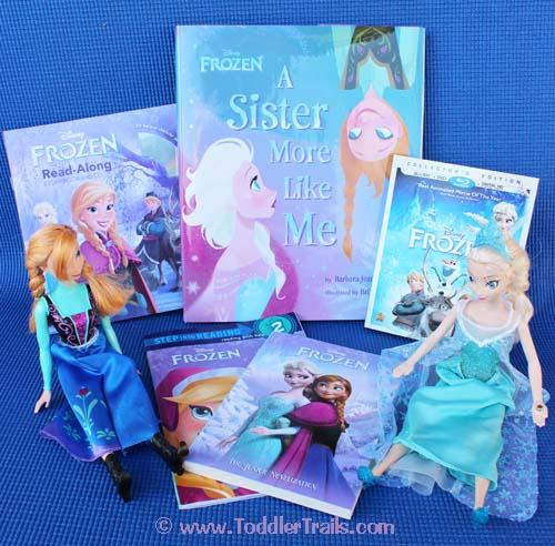 Book Review: Frozen Books For All Ages