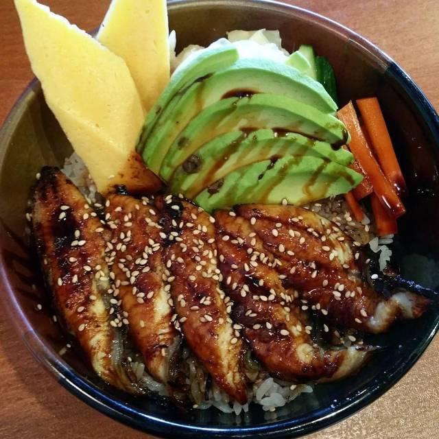 Delicious unagi bowl from sushiworld sushi lunch sushiworld unagi nomnomhellip