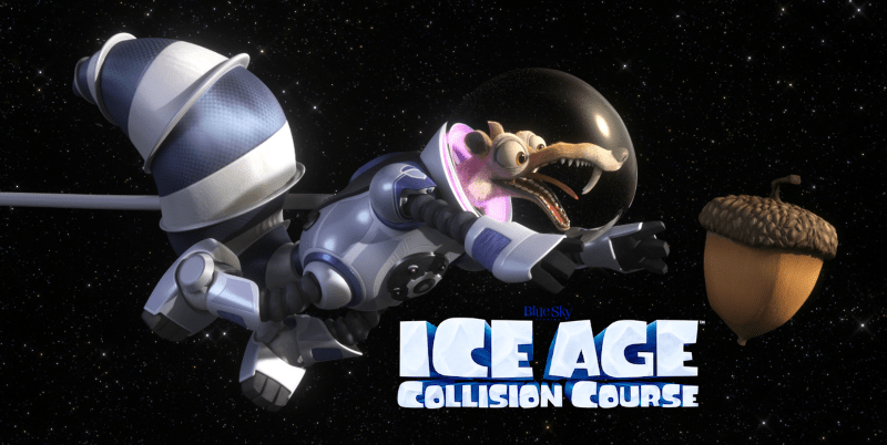 Movie Night and Star Gazing with Ice Age: Collision Course | @FHEInsiders #ScratInSpace #CollisionCourse