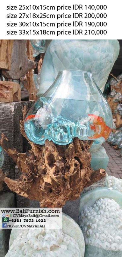 Handblown Glass Bowls Bali Indonesia