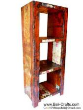 Oildrm1-23 Recycled Oil Drum Shelves Bali Indonesia