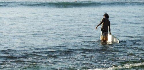 Presqu'île de Bukit vagues magiques moments uniques Balangan Explorer Surfer