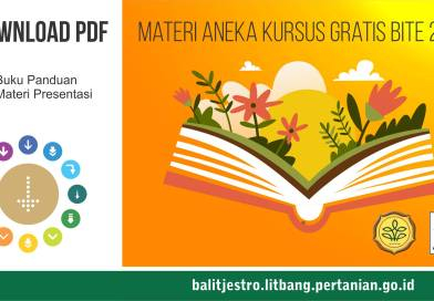 Download PDF Materi Aneka Kursus Gratis BITE 2016