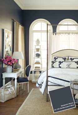 Fantastic Blue Wall Color May July 2014 Paint Colors How To Decorate Paint Colors Bedrooms Bedrooms Benjamin Moore Paint Colors Suzanne Kasler Bedroom