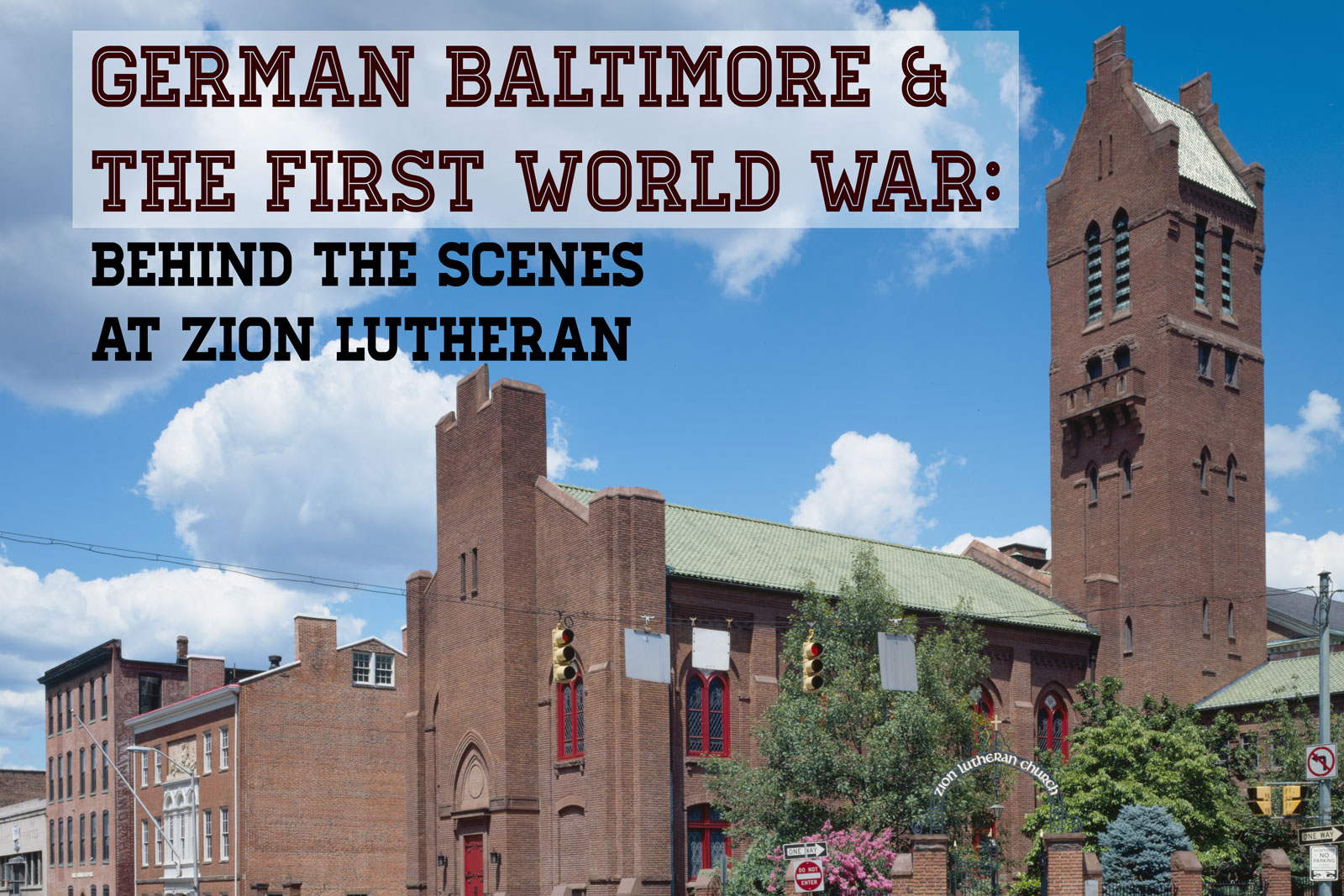 World War One Centenary Tours of Zion Lutheran on September 22 and ...